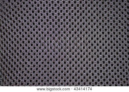 Fabrics, Artificial, Black Colour, Close-up