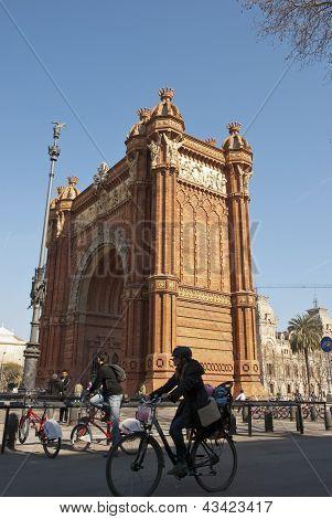 Arch De Triumf, Barcelona