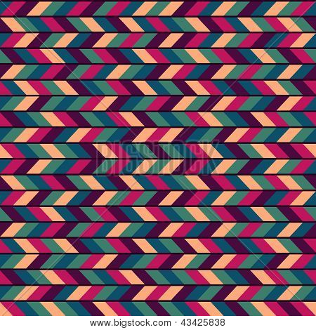 Abstract Colorful Seamless Industrial Vector Background