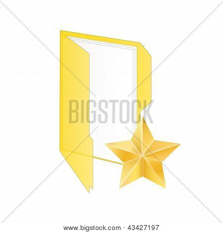 Favorite Icon. Vector Illustration