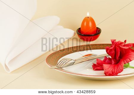 Table Setting By Easter