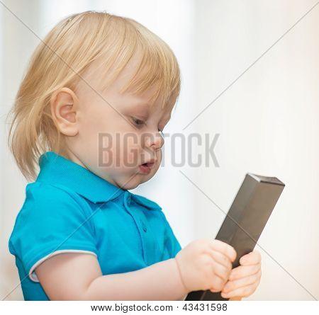 Boy With Remote Control