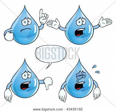 La gota de agua animada - Imagui