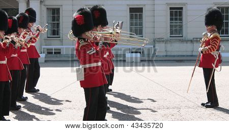 LONDON, ENGLAND - SEPTEMBER 8, 2012: Guards Museum on September 8 in London, England.