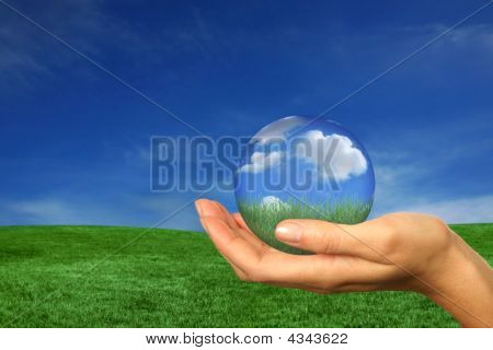 Holding A Perfect Version Of Earth