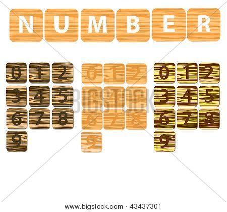 Number Wood