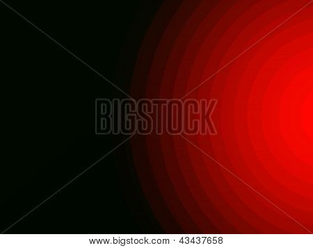 Abstract Background Concentric Radiate Light