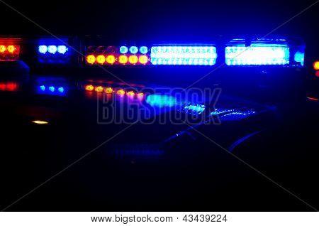 Luzes de polícia