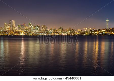 Seattle Evening Reflections