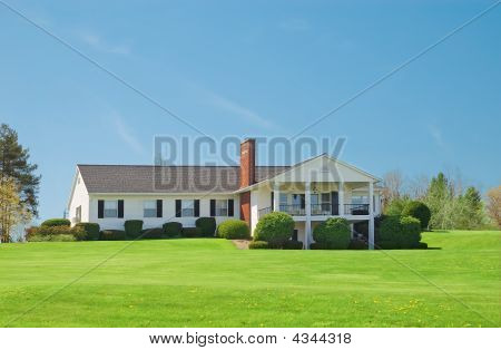 Typical American Rural House