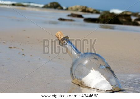 Floating Bottle