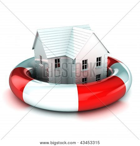 House In A Lifebuoy
