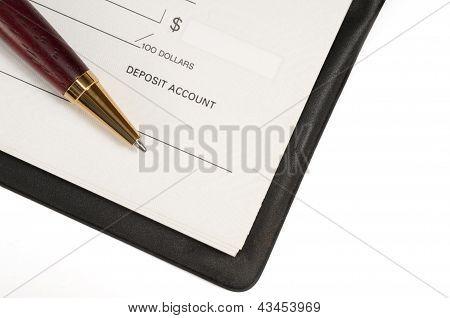 Open Cheque Book