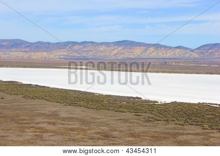 Dry Salt Lakebed
