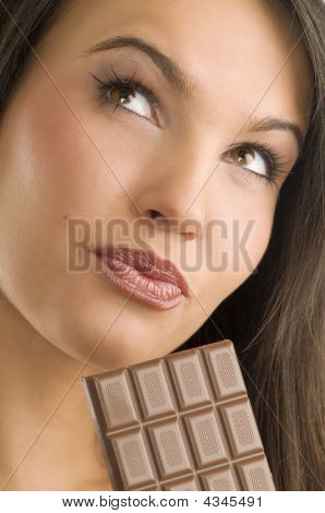 Portrait And Chocolate