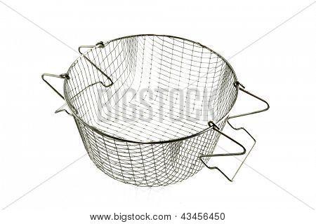 Basket for a deep fat fryer