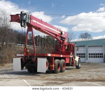 Crane LKW