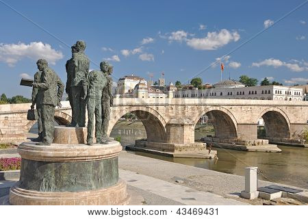 The New Look Of Skopje City, Macedona