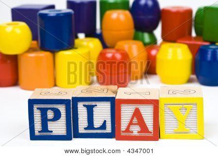 Alphabet Blocks  Play