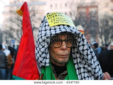 Demonstrant Against War In Gaza