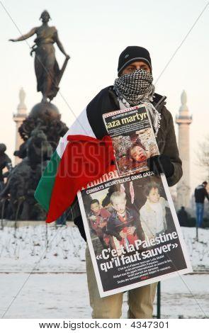Demonstrants Against War In Gaza