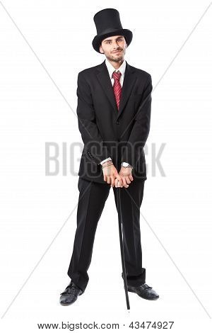 Businessman With Yop Hat