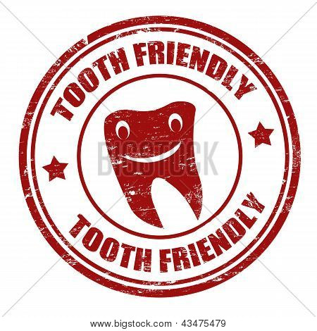 Tooth Friendly Stamp