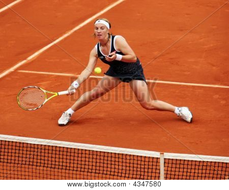 Russia's Svetlana Kuznetsova At Roland Garros
