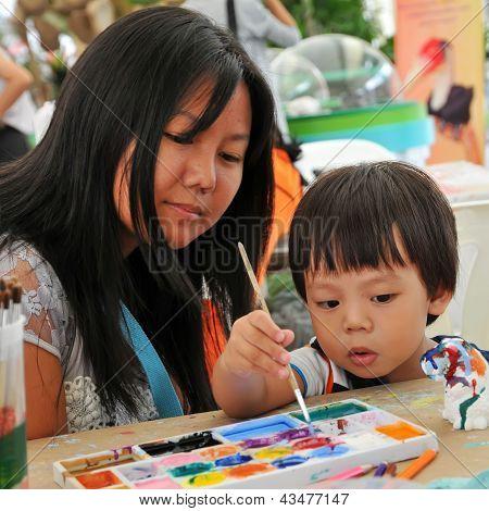 Kind, Gemälde