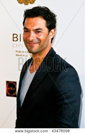 "NEW YORK-MAR 19: Actor Darwin Shaw attends the opening night gala of ""The Bible Experience"" on March 19, 2013 in New York City."