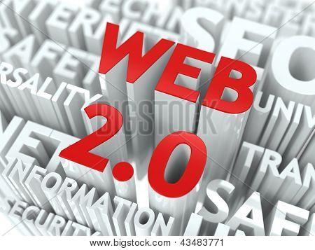 Web 2.0 Concept.