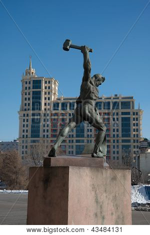 monument to the working