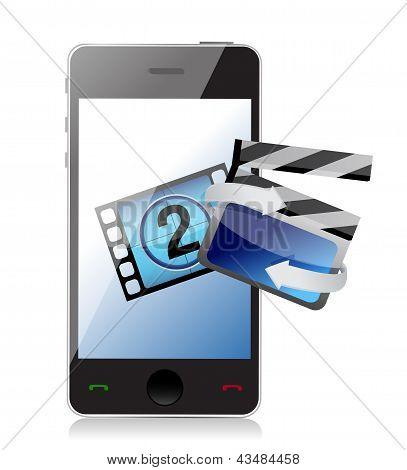 Phone Movie Cinema