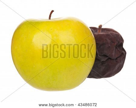 Raw apple