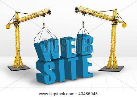 Concepto de la Página Web de edificio