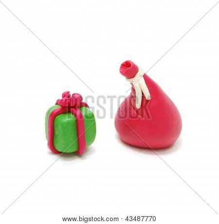 Gift And Santa's Sack