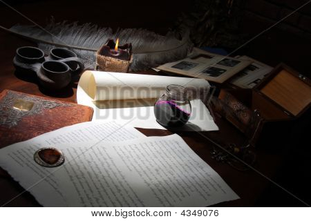 The Old Writer