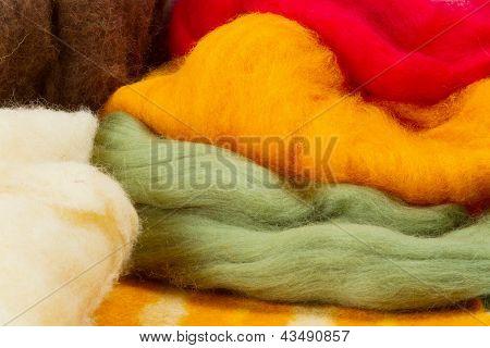 Colorful Merino Wool For Felting