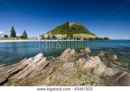 Mount Maunganui Beach, New Zealand
