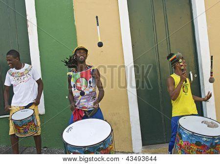 Intérpretes de Samba brasileña