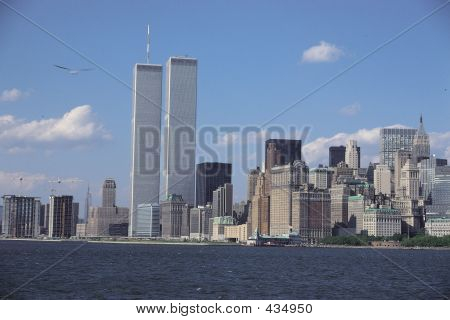 Twin Towers Sea