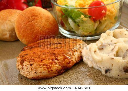 Chipotle Chicken Dinner