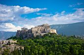 image of ancient civilization  - Beautiful view of ancient Acropolis Athens Greece - JPG