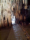 image of underworld  - Gateway to underworld in Tham Khao Bin cave Ratchaburi Thailand - JPG