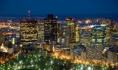 stock photo of prudential center  - Boston downtown view from 49th floor of Prudential Tower - JPG