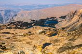 stock photo of beartooth  - Lakes and scenic mountain views found along the Beartooth Highway - JPG