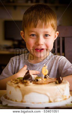 Boy In His Birthday