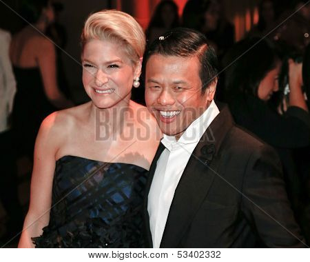 NEW YORK-SEP 17: Investor Julie Macklowe and designer Zang Toi attend the 14th annual New Yorkers For Children Fall Gala at Cipriani 42nd Street on September 17, 2013 in New York City