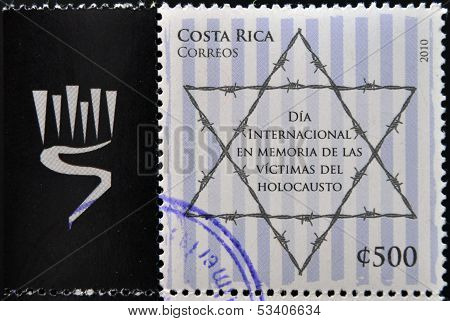 stamp Celebrating the International Day in Memory of the Victims of the Holocaust