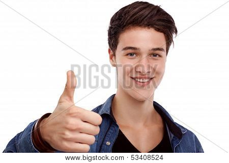 Hopeful Young Man